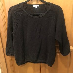 James Perse Open Knit Sweater